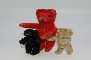 Ruby (Rare, Red, Soldier Bear/Cat?)